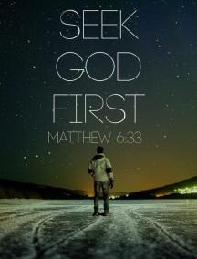 Image result for seek the kingdom of god first